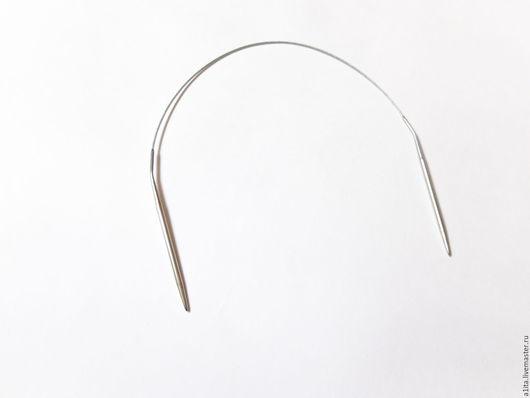 Вязание ручной работы. Ярмарка Мастеров - ручная работа. Купить Круговые спицы, 43-100см, 1,5-5мм. Handmade.