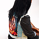 """Верхняя одежда ручной работы. Ярмарка Мастеров - ручная работа. Купить Джинсовая курточка """"Индия"""". Handmade. Рисунок, индийский слон"""