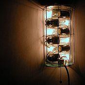 Для дома и интерьера ручной работы. Ярмарка Мастеров - ручная работа Бра «Старое стекло». Handmade.