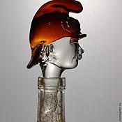 Для дома и интерьера ручной работы. Ярмарка Мастеров - ручная работа Пожарный ( Пробка для бутылки). Handmade.