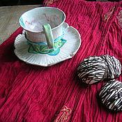 """Чайные пары ручной работы. Ярмарка Мастеров - ручная работа Чайная пара """"Цветок Пиона"""". Handmade."""