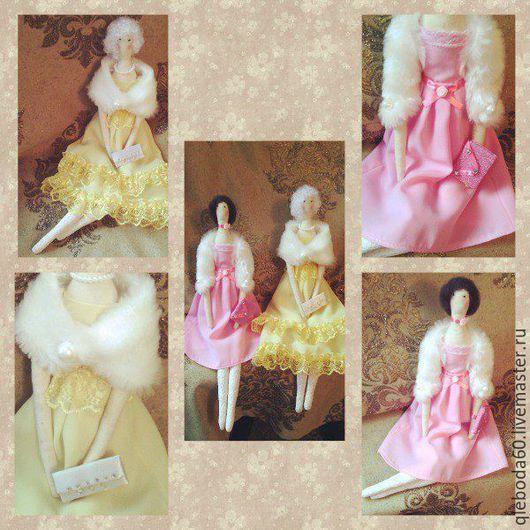 Куклы Тильды ручной работы. Ярмарка Мастеров - ручная работа. Купить Куклы  текстильной  работы - Дамы. Handmade. Кукла Тильда