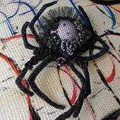Украшения handmade. Livemaster - original item Black widow. Handmade.
