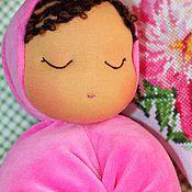 Куклы и игрушки ручной работы. Ярмарка Мастеров - ручная работа Куколка для засыпания и обнимания. Handmade.