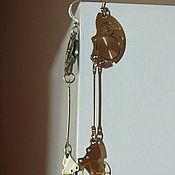 """Украшения ручной работы. Ярмарка Мастеров - ручная работа Стимпанк серьги """"Стальная колесница"""". Handmade."""