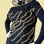 """Одежда ручной работы. Ярмарка Мастеров - ручная работа Жилет вязаный """" Тигриный """". Handmade."""