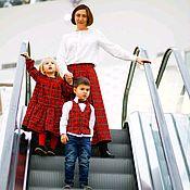 Юбки ручной работы. Ярмарка Мастеров - ручная работа Юбки: Яркий лук для мамы с детьми. Handmade.