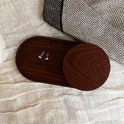 Хранение вещей ручной работы. Ярмарка Мастеров - ручная работа B a s i c _ Набор для хранения: подставка и круглая коробочка. Handmade.