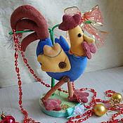 Куклы и игрушки ручной работы. Ярмарка Мастеров - ручная работа Новогодний подарок -Петушок. Handmade.