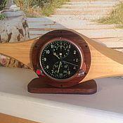 Для дома и интерьера ручной работы. Ярмарка Мастеров - ручная работа Оригинальный корпус для авиационных часов. Handmade.