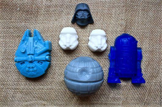 """Мыло ручной работы. Ярмарка Мастеров - ручная работа. Купить Набор мыла """"Звездные войны"""". Handmade. Комбинированный"""