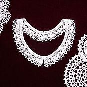Аксессуары handmade. Livemaster - original item Lace collar crochet No. №13. Handmade.