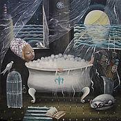 Картины и панно ручной работы. Ярмарка Мастеров - ручная работа Морская вода.. Handmade.