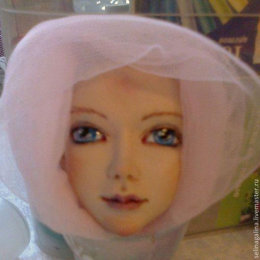 Коллекционные куклы ручной работы. Ярмарка Мастеров - ручная работа. Купить Настенька. Handmade. Белый, розовый, голубой, ливингдолл