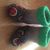Обувь ручной работы. Ярмарка Мастеров - ручная работа Детские валенки. Handmade.