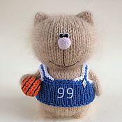 Куклы и игрушки handmade. Livemaster - original item Kitty Basketball Player.. Handmade.