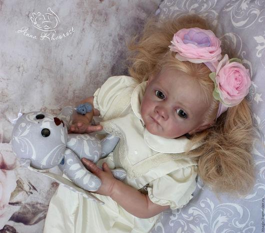 Куклы-младенцы и reborn ручной работы. Ярмарка Мастеров - ручная работа. Купить Фрида. Handmade. Сиреневый, севастополь, анна хворост