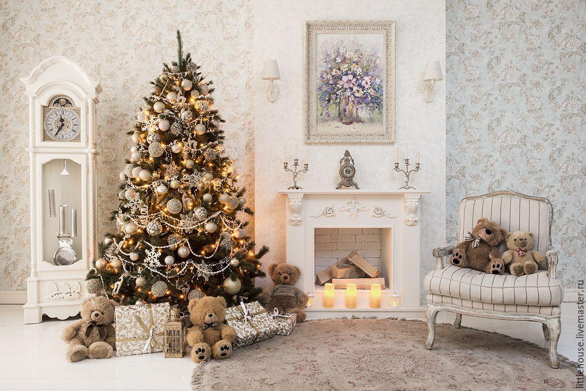 фотостудия прованс москва новый год декор, дизайн