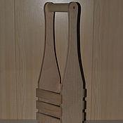 Материалы для творчества ручной работы. Ярмарка Мастеров - ручная работа Корзинка для вина ( 2 размера). Handmade.