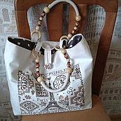 Сумки и аксессуары handmade. Livemaster - original item Bag embroidered summer