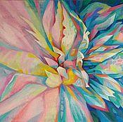 """Картины и панно ручной работы. Ярмарка Мастеров - ручная работа """" Цветок Вселенной -Проникновенье света- II """". Handmade."""