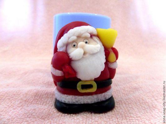 """Другие виды рукоделия ручной работы. Ярмарка Мастеров - ручная работа. Купить Силиконовая форма для мыла """"Санта-Клаус"""". Handmade."""