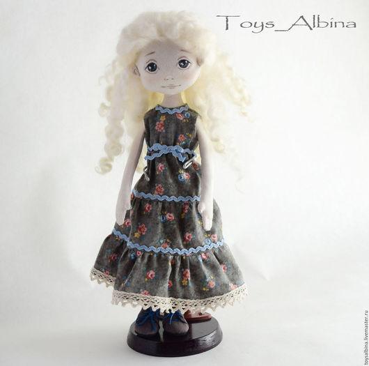 Коллекционные куклы ручной работы. Ярмарка Мастеров - ручная работа. Купить Козетта. Handmade. Хаки, интерьерная кукла, кукла в подарок