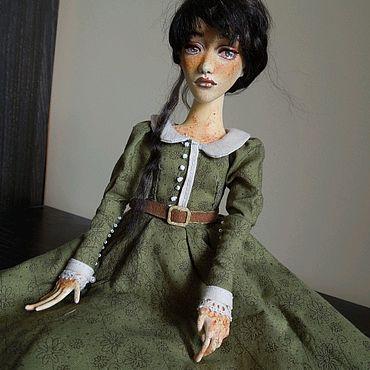 """Куклы и игрушки ручной работы. Ярмарка Мастеров - ручная работа Шарнирная кукла """"Эльза"""". Handmade."""