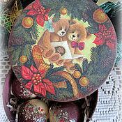 Подарки к праздникам ручной работы. Ярмарка Мастеров - ручная работа Набор шариков  Праздничный вечер. Handmade.