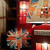 """Для дома и интерьера ручной работы. Ярмарка Мастеров - ручная работа Часы """"Английское время"""". Handmade."""