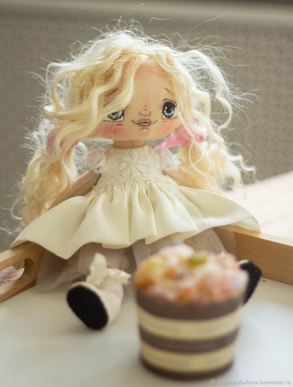 Кукла текстильная Адель, Портретная кукла, Благовещенск,  Фото №1