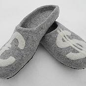 Обувь ручной работы. Ярмарка Мастеров - ручная работа Папины Тапки. Handmade.