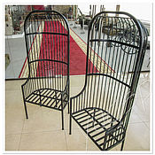 Стулья ручной работы. Ярмарка Мастеров - ручная работа Стул-кресло «Клетка». Handmade.