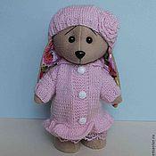 Куклы и игрушки ручной работы. Ярмарка Мастеров - ручная работа Зайка Роза (одежда снимается). Handmade.