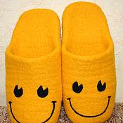 Обувь ручной работы handmade. Livemaster - original item Slippers - Smile. Handmade.