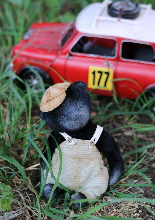 Мишки Тедди ручной работы. Ярмарка Мастеров - ручная работа. Купить Балми. Handmade. Черный, мишки, японский фактурный хлопок