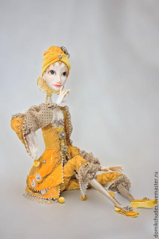 Коллекционные куклы ручной работы. Ярмарка Мастеров - ручная работа. Купить Беатрисс. Handmade. Платье нарядное, сувениры ручной работы