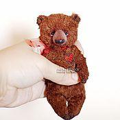 Куклы и игрушки ручной работы. Ярмарка Мастеров - ручная работа Карманный мишка. Или сумочный. Или подушечный.. Handmade.