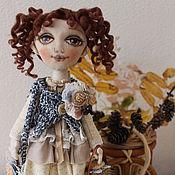 Куклы и игрушки ручной работы. Ярмарка Мастеров - ручная работа Алиса, путешествие в Осень. В стиле Бохо.. Handmade.