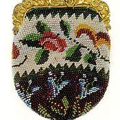 Русский стиль ручной работы. Ярмарка Мастеров - ручная работа Бисерный кошелек. Handmade.