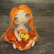 """Куклы и игрушки ручной работы. Ярмарка Мастеров - ручная работа Лапонька """"Солнечная"""". Handmade."""