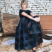 Одежда ручной работы. Ярмарка Мастеров - ручная работа Валяное платье Темная сторона Луны. Handmade.