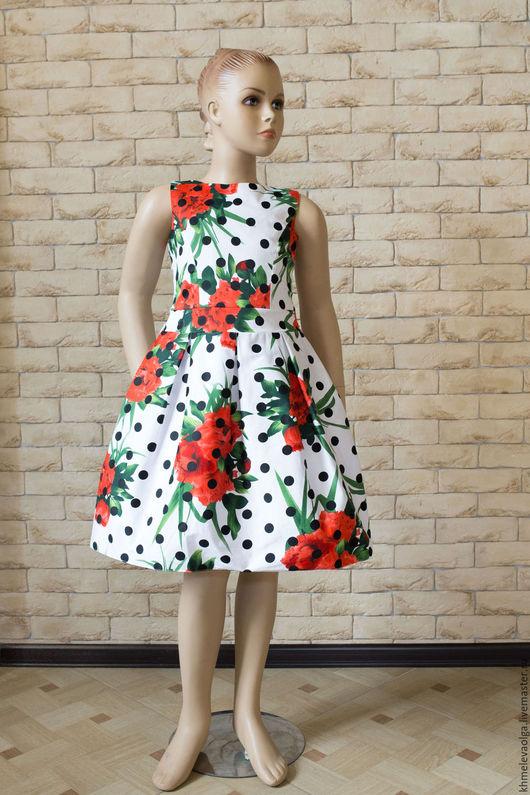 Одежда для девочек, ручной работы. Ярмарка Мастеров - ручная работа. Купить Платье. Handmade. Белый, платье для девочки, детская одежда