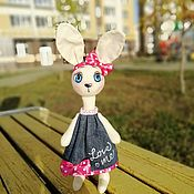 Куклы и пупсы ручной работы. Ярмарка Мастеров - ручная работа Зайки. Handmade.