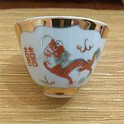 Винтаж handmade. Livemaster - original item Porcelain bowl 80 years 1. Handmade.