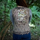 Copyright vest 'Owl 2' from the collection 'the Magic forest'. Vests. Woolmuse Studio. My Livemaster. Фото №5