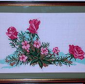Картины ручной работы. Ярмарка Мастеров - ручная работа Роза. Handmade.