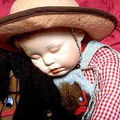 "Куклы и игрушки ручной работы. Ярмарка Мастеров - ручная работа Ashton Drake""Asleep in the Saddle"". Handmade."