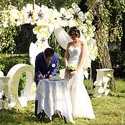 """Свадебный салон ручной работы. Ярмарка Мастеров - ручная работа Свадебная арка """"Волшебный лес"""". Handmade."""