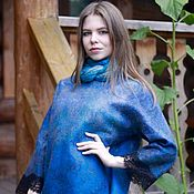 Dresses handmade. Livemaster - original item Felted dress
